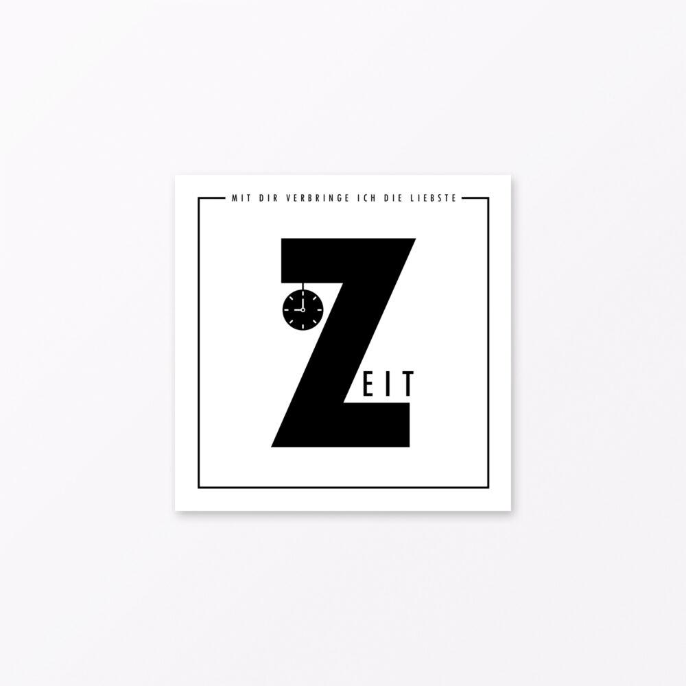 Singles Abc Karten Ich Liebe Dich Von A Z Quadratisch