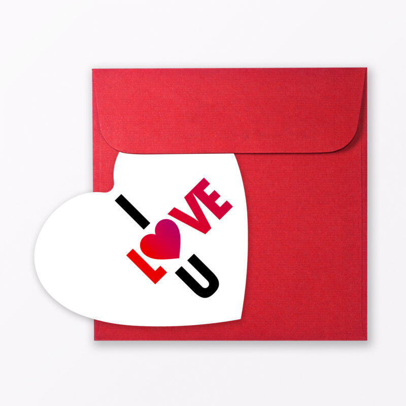 Teiliges Set Postkarten Quot Liebe Quot In Herzform Inkl Umschl Ge Individuell W Hlbar