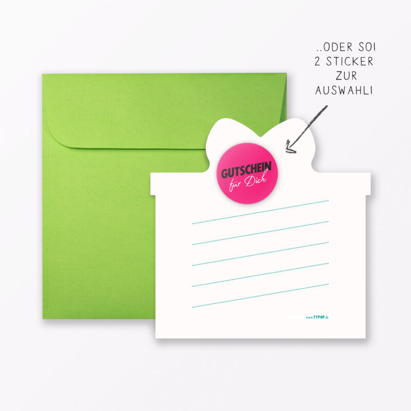 Geburtstagskarte Quot H Ppi B Rsd J Quot Gr N In Geschenkform Inkl Umschlag Sticker