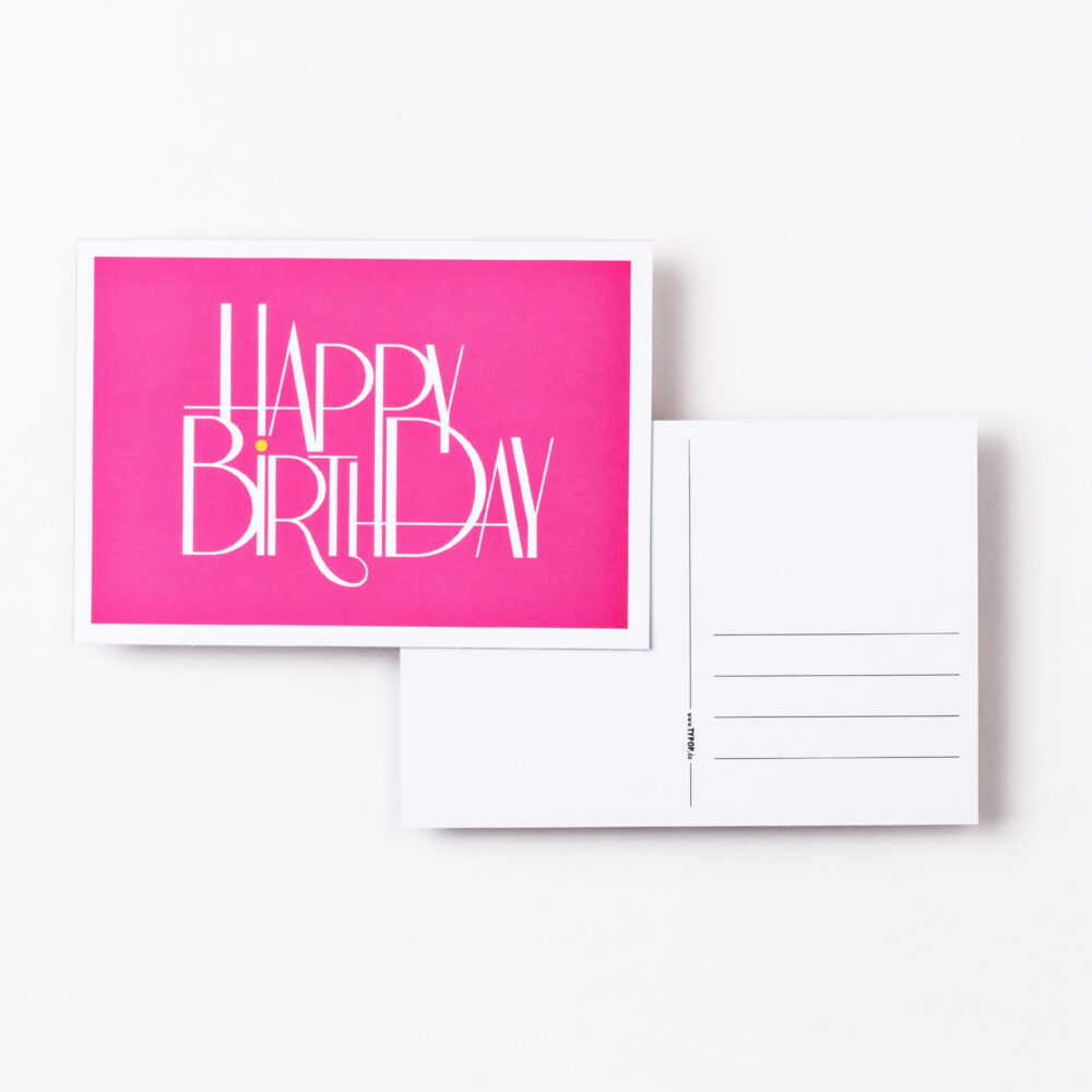 03 typop birthday birthday pink
