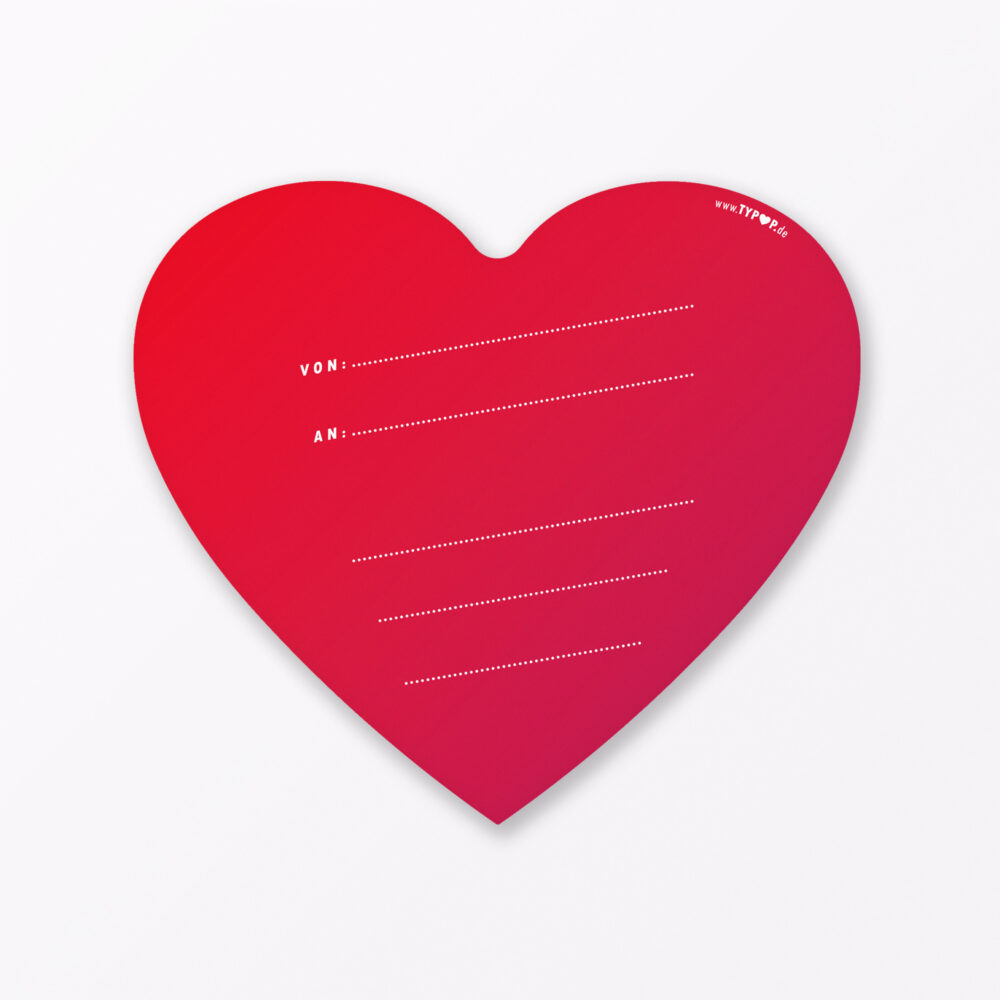 Postkarte Quot I Love U Quot In Herzform Inkl Umschlag Amp Armband