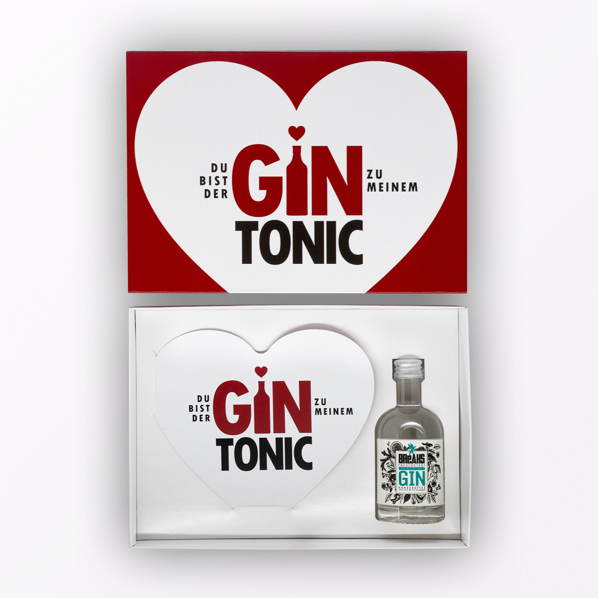 A Typop Gincard Verpackung