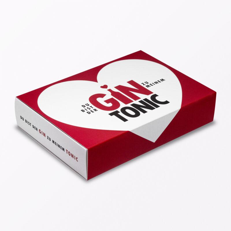 Teiliges Geschenk Set Gin Tonic Herzkarte Little Breaks Gin Amp Geschenkverpackung