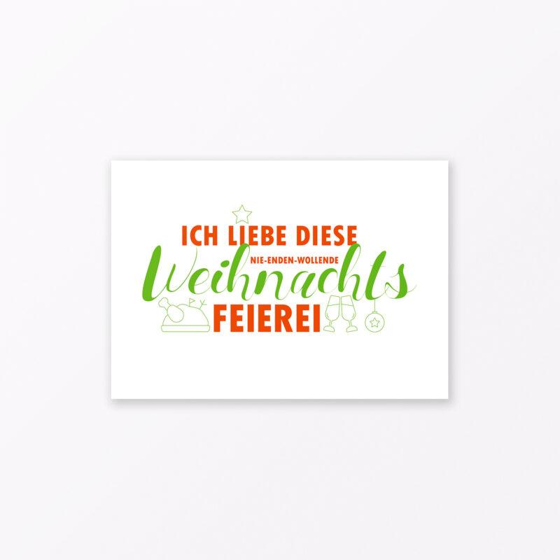 Postkarte Quot Mit Liebe Und Kaffee Quot A Mit Goldfolie