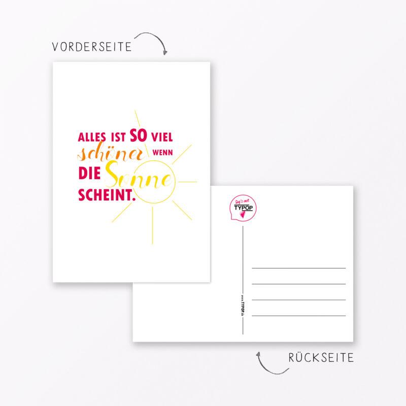 Teiliges Postkarten Set Quot Spr Che Und Zitate Quot Din A