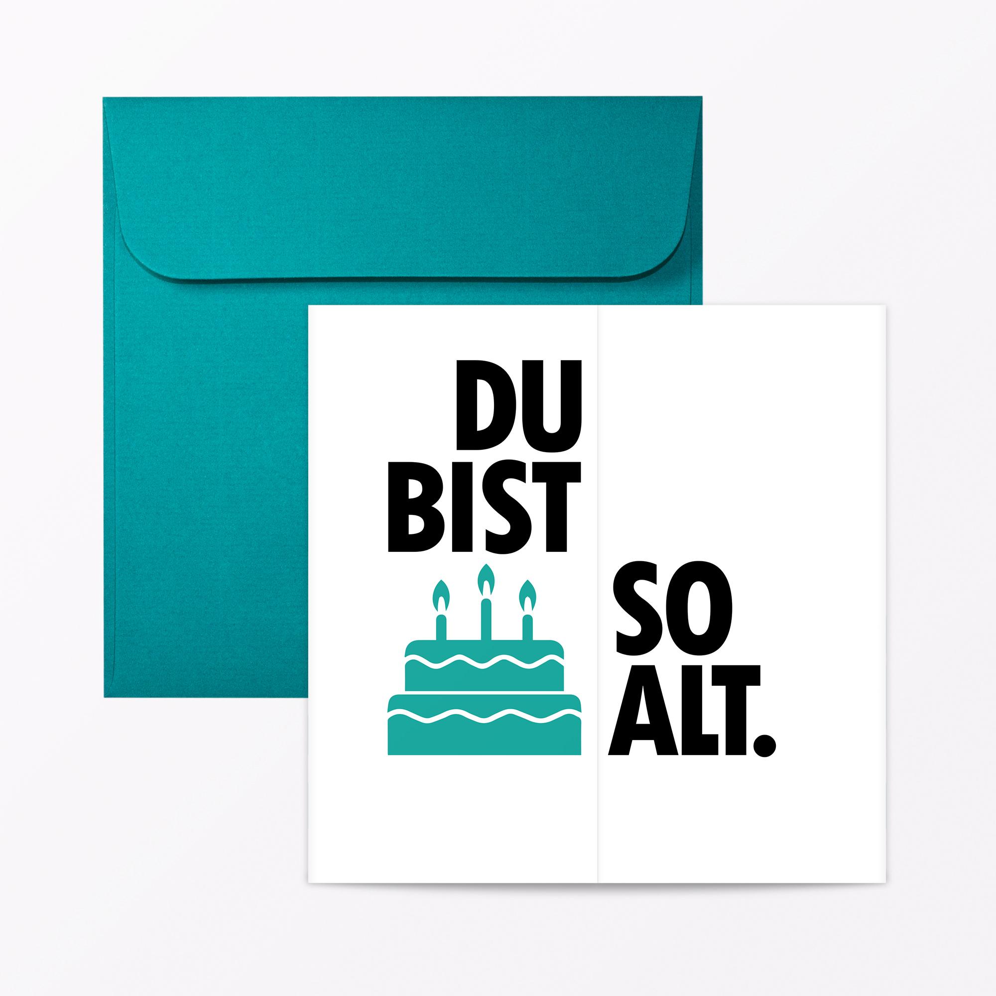 Typop Faltkarte Geburtstagskarte