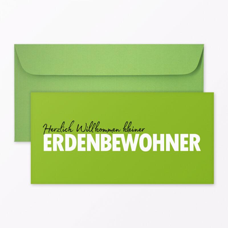 Weihnachtskarte Quot Fr Hliche Weihnachten Quot Gr N Klappkarte A Inkl Umschlag
