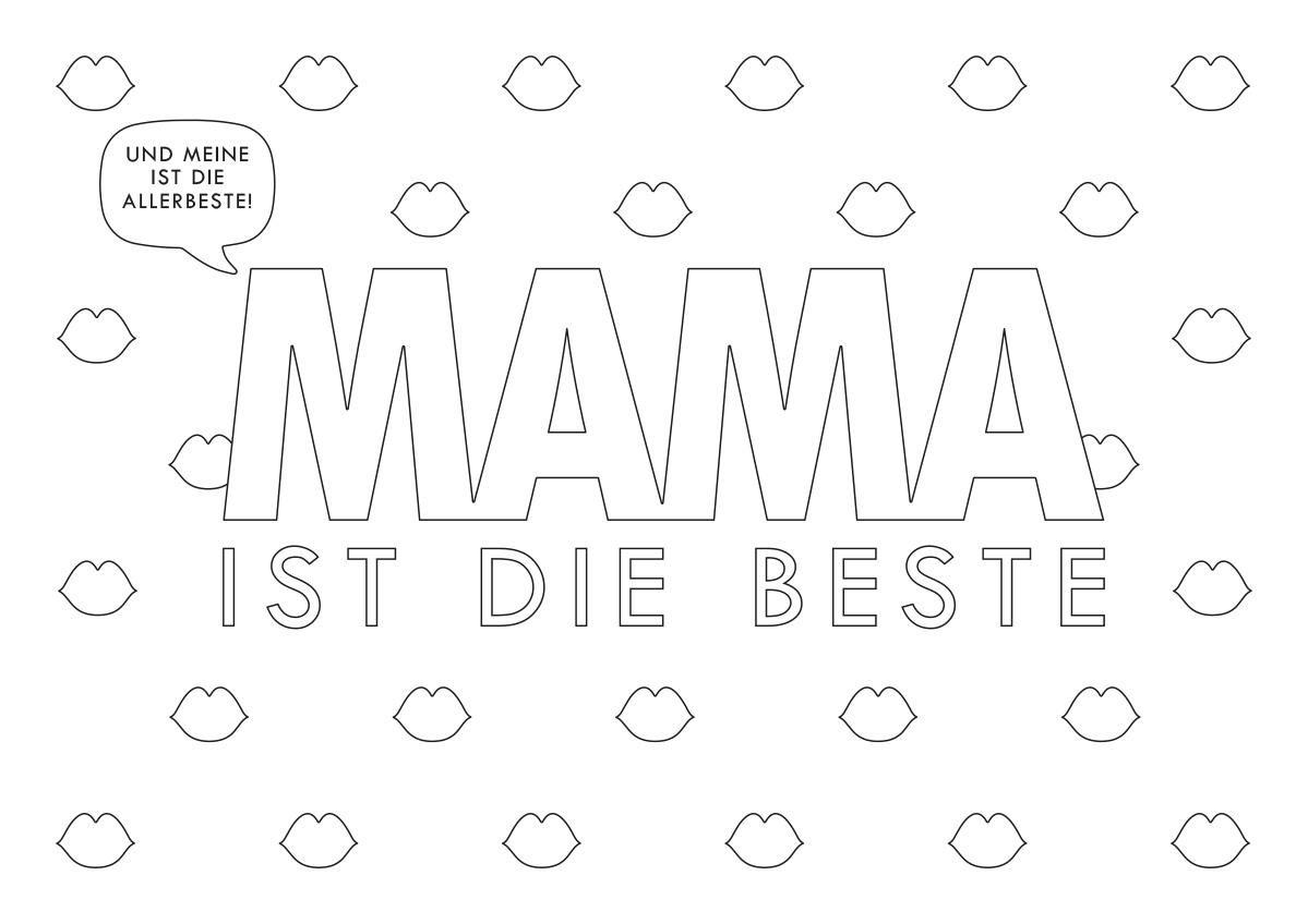 Printable Mama Quer