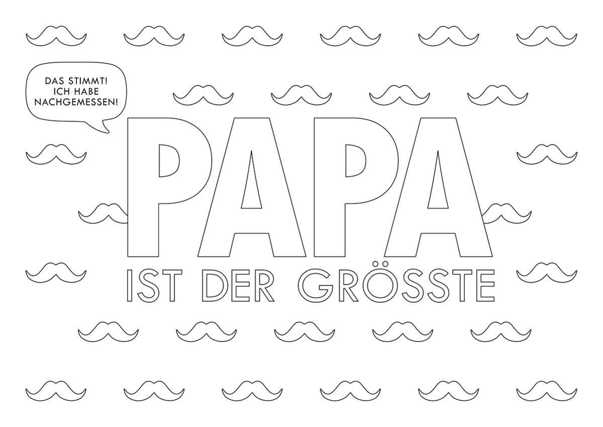 Printable Papa Quer